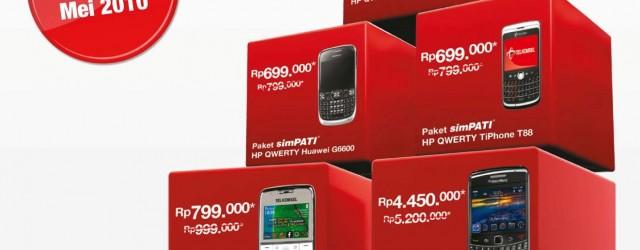 Paket Bundling HP Perdana Telkomsel
